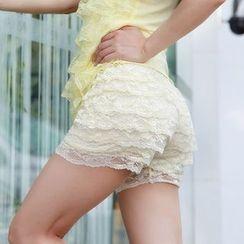 Coshield - Lace Boy Shorts