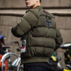 ZZP HOMME - Lettering Padded Jacket