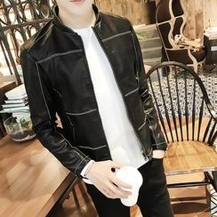 Eight Degrees - Faux Leather Jacket
