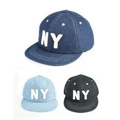 STYLEMAN - Lettering Denim Baseball Cap