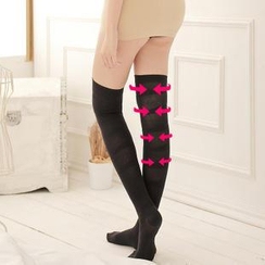 Feeling Touch - Over-The-Knee Shaping Socks