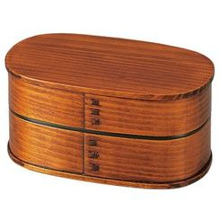 Hakoya - Hakoya Mens Wooden Lunch Box Suriurushi