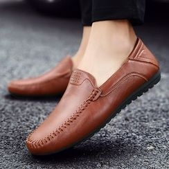 HANO - Faux Leather Loafers