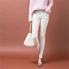 Styleberry - Band-Waist Skinny Pants