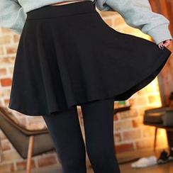Hyoty - 假兩件裙內搭褲