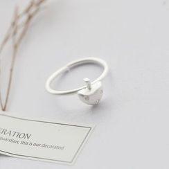 Love Generation - Mushroom Rhinestone Sterling Silver Ring