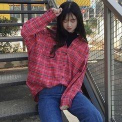 QZ Lady - Plaid Shirt