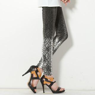 59 Seconds - Ombré Snake Print Leggings