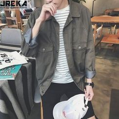 Jacka - Embroidered Denim Jacket