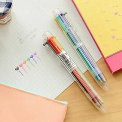 Class 302 - Multicolored Ballpoint Pen (6 Colors)