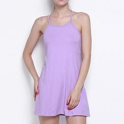 Obel - Halter A-line Dress