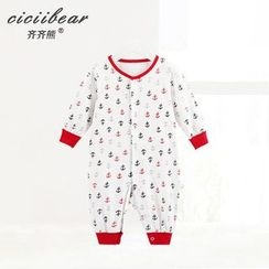 ciciibear - Baby Anchor Printed One-piece