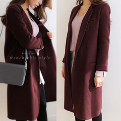 WITH IPUN - Wool Blend Coat