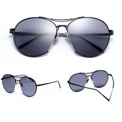UnaHome Glasses - 双梁飞行员太阳眼镜