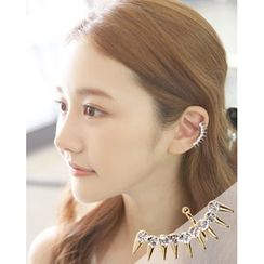 Miss21 Korea - Stud Ear Cuff (Single)