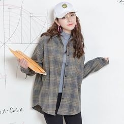 Moriville - Plaid Long-Sleeve Shirt