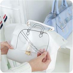 VANDO - 塑胶包包雨衣透明防水防尘罩