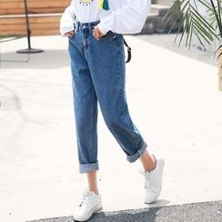 Ivena - Cropped Jeans