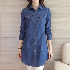 BOHIN - Denim Long Shirt