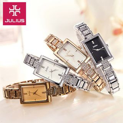 JULIUS - Rhinestone Bracelet Watch