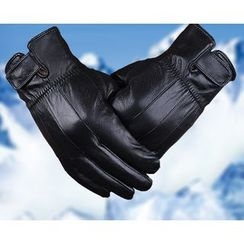 Fow Fow - Genuine Leather Biker Gloves