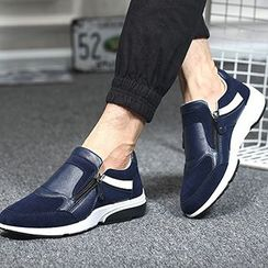 Shoelock - Faux Leather Sneakers