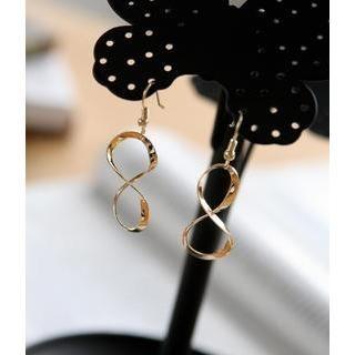 Petit et Belle - Infinity Symbol Hook Earrings