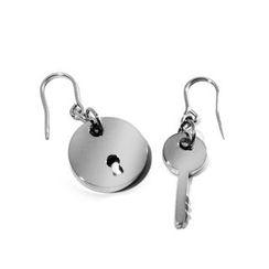 Kamsmak - Key to Live In Peace Earrings