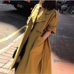 茜珞萊 - 純色外套連衣裙