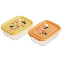 Skater - Kiki's Delivery Service Seal Box (2 Pieces Set) (Orange)