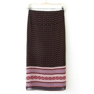 JVL - Patterned Maxi Skirt