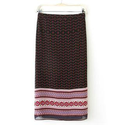 JVL - Patterned Maxi Skirt