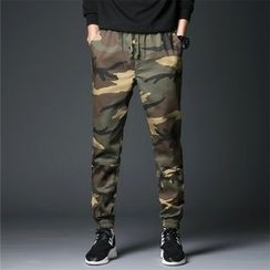 Bay Go Mall - Camouflage Jogger Pants