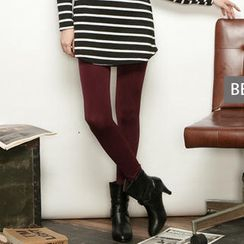 CUTIE FASHION - Fleece-Lined Leggings / Tights