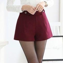Harmonium - Belted Shorts