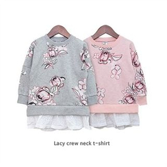 URAVI - Floral Print Pullover
