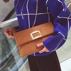 Clair Fashion - Faux-Leather Clutches