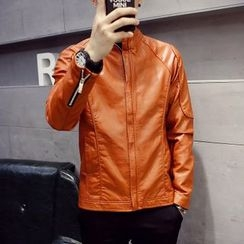 Hawoo - Faux-Leather Jacket