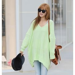 REDOPIN - Oversize Drop-Shoulder Sweater