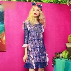 ELF SACK - Lace A-Line Dress
