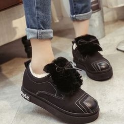 Simply Walk - Faux Fur-Lined Sneakers