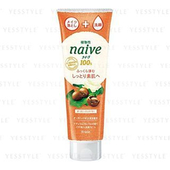 Kracie - Naive Make-up Cleansing Facial Foam (Shea Butter)
