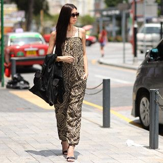59 Seconds - Printed Sleeveless Jumpsuit
