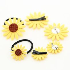 LIDO - Flower Hair Tie / Clip / Brooch