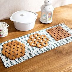 Home Simply - Bamboo Heat Resistant Mat