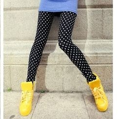 Raisin - Dotted Skinny Pants