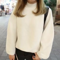 YUKISHU - Plain Thick Sweater