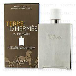 Hermes 爱马仕 - Terre DHermes Eau Tres Fraiche Eau De Toilette Refillable Metal Spray