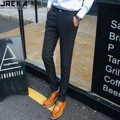 Jacka - Fleece Lined Slim-Fit Pants