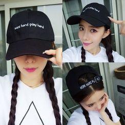 SOCOOL - 刺绣棒球帽子
